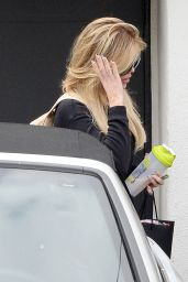 Khloe Kardashian - Leaving a Hair Salon After Getting Her Hair Done in Beverly Hills, June 2015