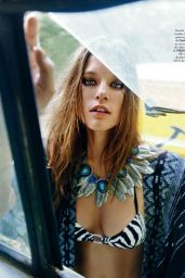 Kim Cloutier - Elle Magazine (Spain) July 2015 Issue