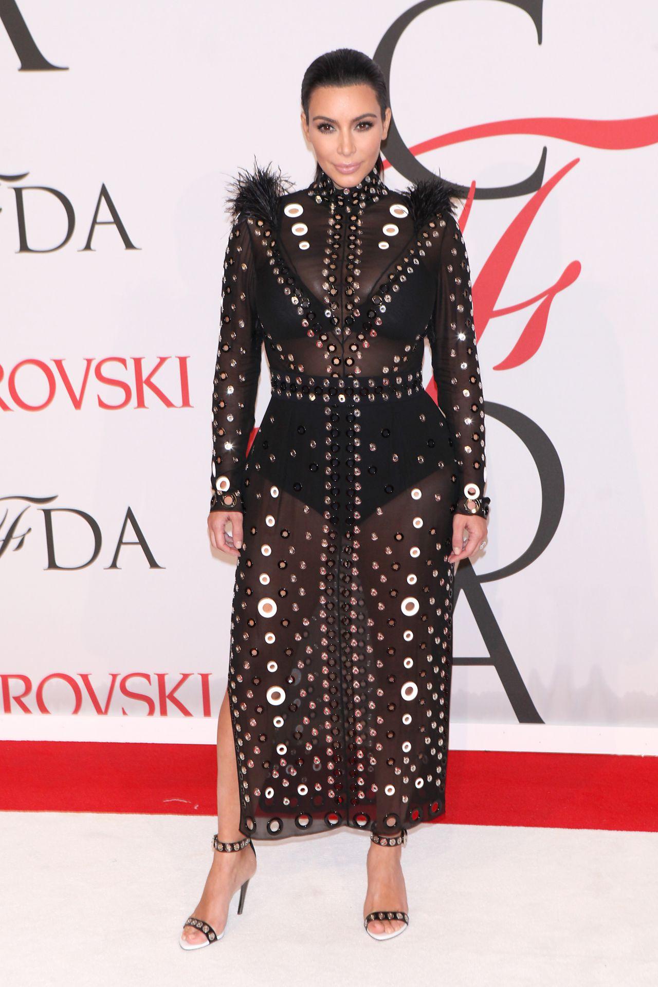 Kim Kardashian – 2015 CFDA Fashion Awards in New York City