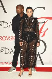 Kim Kardashian – 2015 CFDA Fashion Awards in New York City
