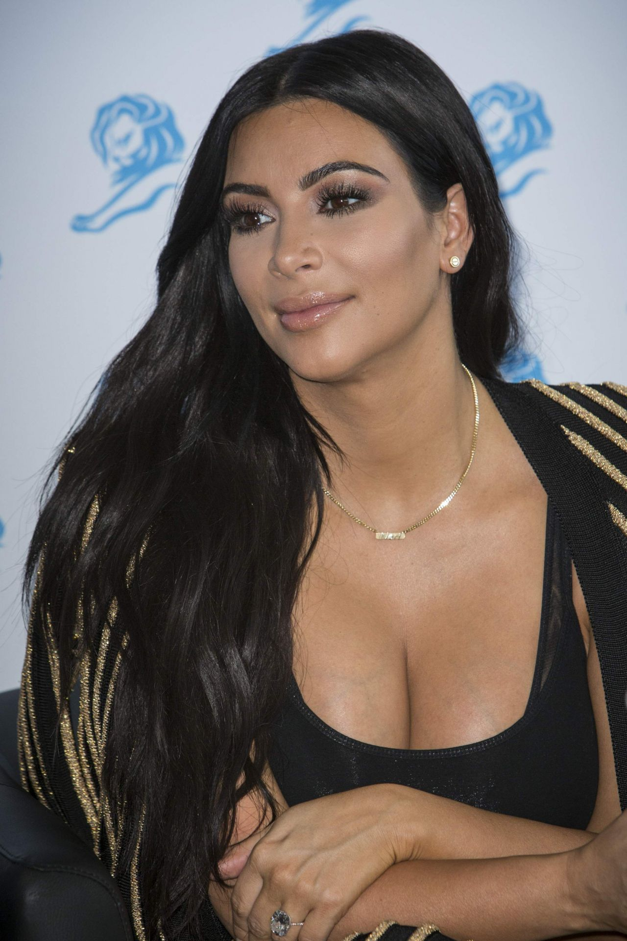 Kim Kardashian Cannes Lions 2015 Event In Cannes