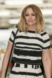 Kimberley Walsh at ITV Studios in London, June 2015