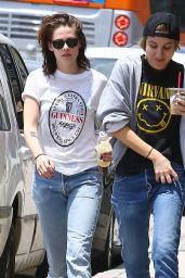 Kristen Stewart - Out in Silverlake, June 2015