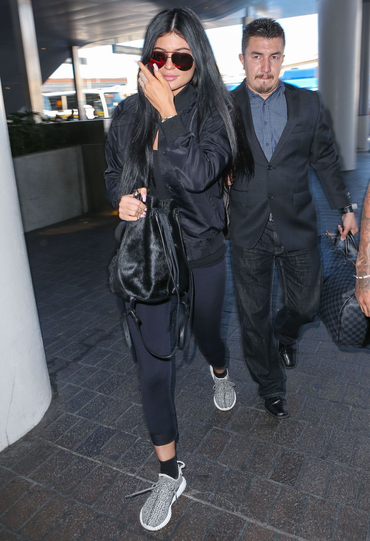 Kylie Jenner At Lax Airport In La June 2015