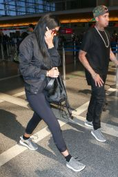 Kylie Jenner at LAX Airport in LA, June 2015