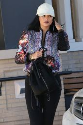 Kylie Jenner in Leggings - Out in Beverly Hills, June 2015