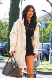 Kylie Jenner & Pia Mia Perez - Out in Calabasas, May 2015