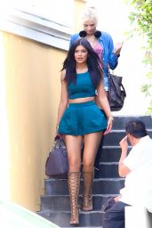 Kylie Jenner & Pia Mia Perez Street Style - Out  in Calabasas, May 2015