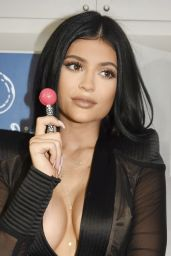 Kylie Jenner - Sugar Factory Opening in Miami Beach, June 2015