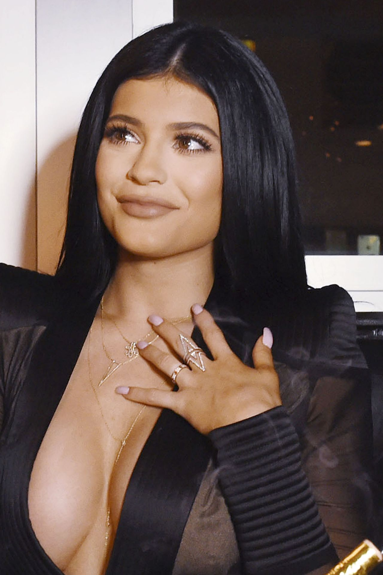 Kylie Jenner Sugar Factory Opening In Miami Beach June 2015