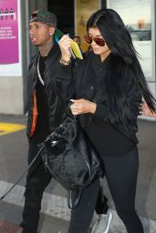 Kylie Jenner Summer Airport Style – Nice, France, June 2015