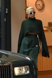 Lady Gaga in North London At The Bikram Yoga Centre, June 2015