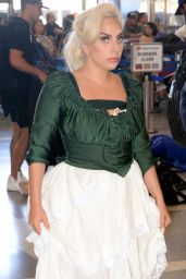 Lady Gaga - LAX Airport in Los Angeles, June 2015