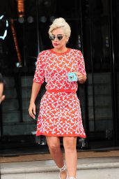Lady Gaga Street Style - London, June 2015