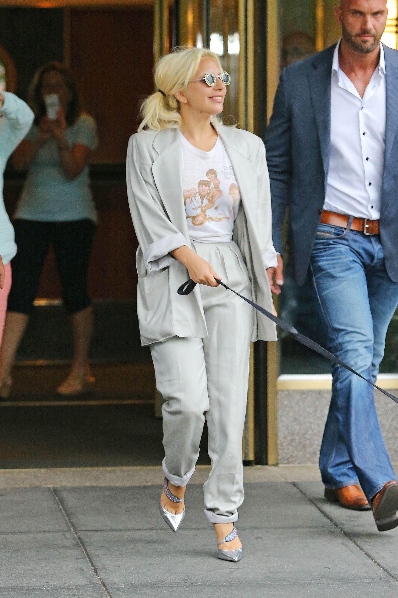 Lady Gaga Street Style Nyc June 2015