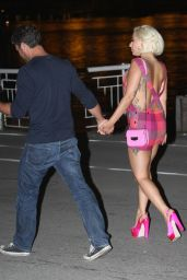 Lady Gaga - Visited Her Fiance Actor Taylor Kinney in Belgrade (Serbia), June 2015