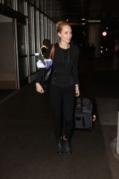 Laura Vandervoort - LAX Airport, May 2015