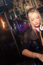 Laura Whitmore at Boujis Nightclub in London, June 2015