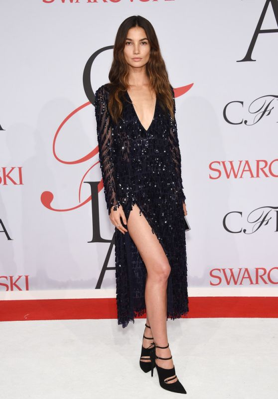 Lily Aldridge – 2015 CFDA Fashion Awards in New York City