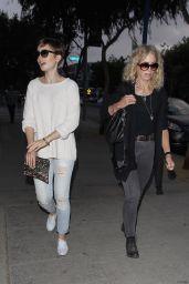 Lily Collins - Santa Monica Boulevard in Los Angeles, June 2015