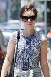 Lily Collins Style - Out in Los Angeles, June 2015