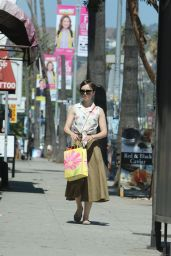Lily Collins Style - Shopping in West Hollywood, June 2015