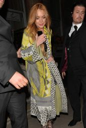 Lindsay Lohan - i-D and Jeremy Scott for Moschino Anniversary Party, June 2015