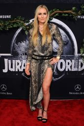 Lindsey Vonn - Jurassic World Premiere in Hollywood