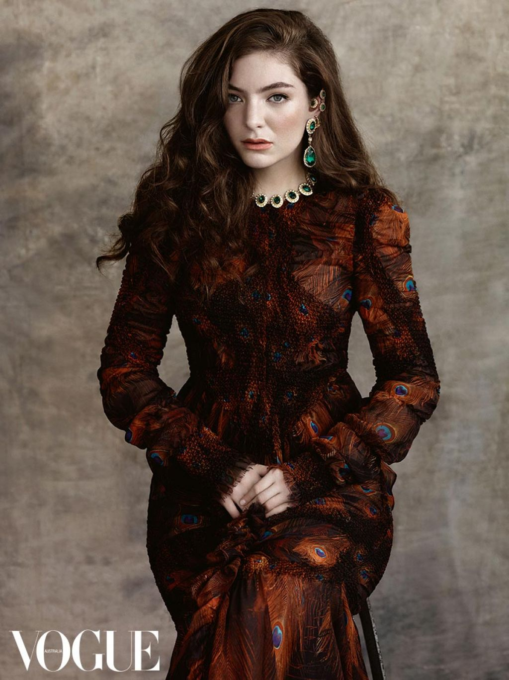 lorde vogue magazine australia july 2015