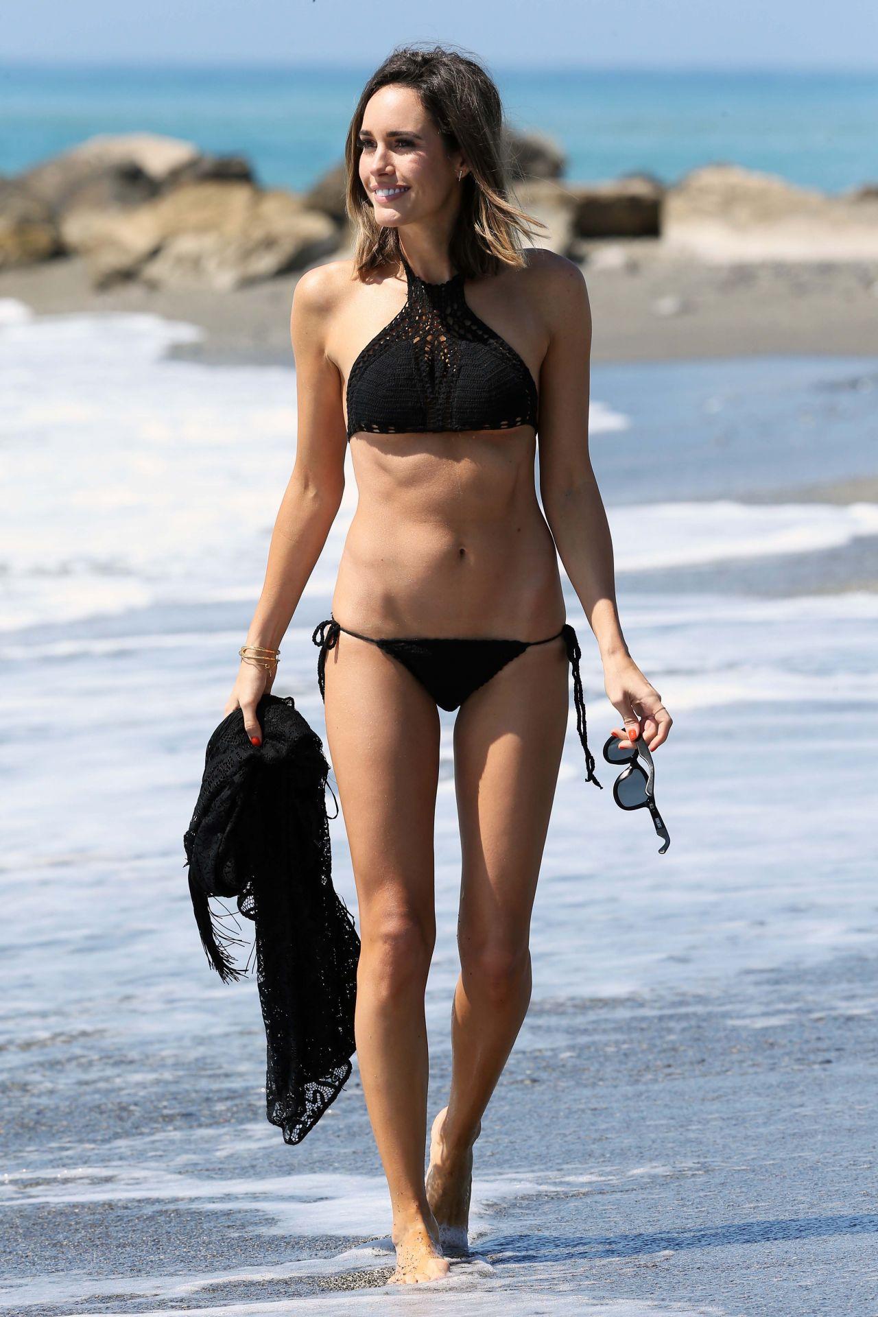 Louise Roe In A Bikini On Holiday In Spain June 2015