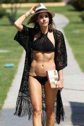 Louise Roe in a Bikini - on Holiday in Spain, June 2015