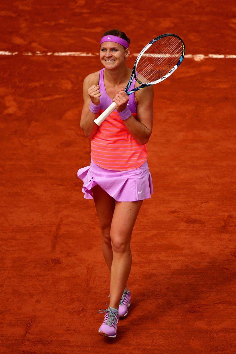 Lucie Safarova 2015 French Tennis Open At Roland Garros