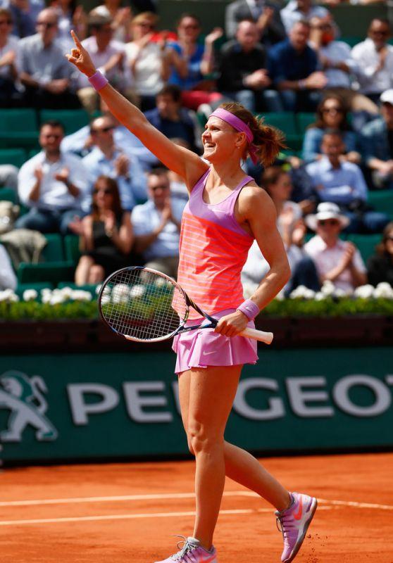 Lucie Safarova – 2015 French Tennis Open at Roland Garros in Paris – Quarterfinals