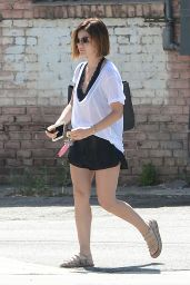Lucy Hale - Out in West Hollywood, June 2015