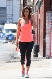 Lucy Mecklenburgh in Leggings - JD Sports Fashion Shoot, June 2015