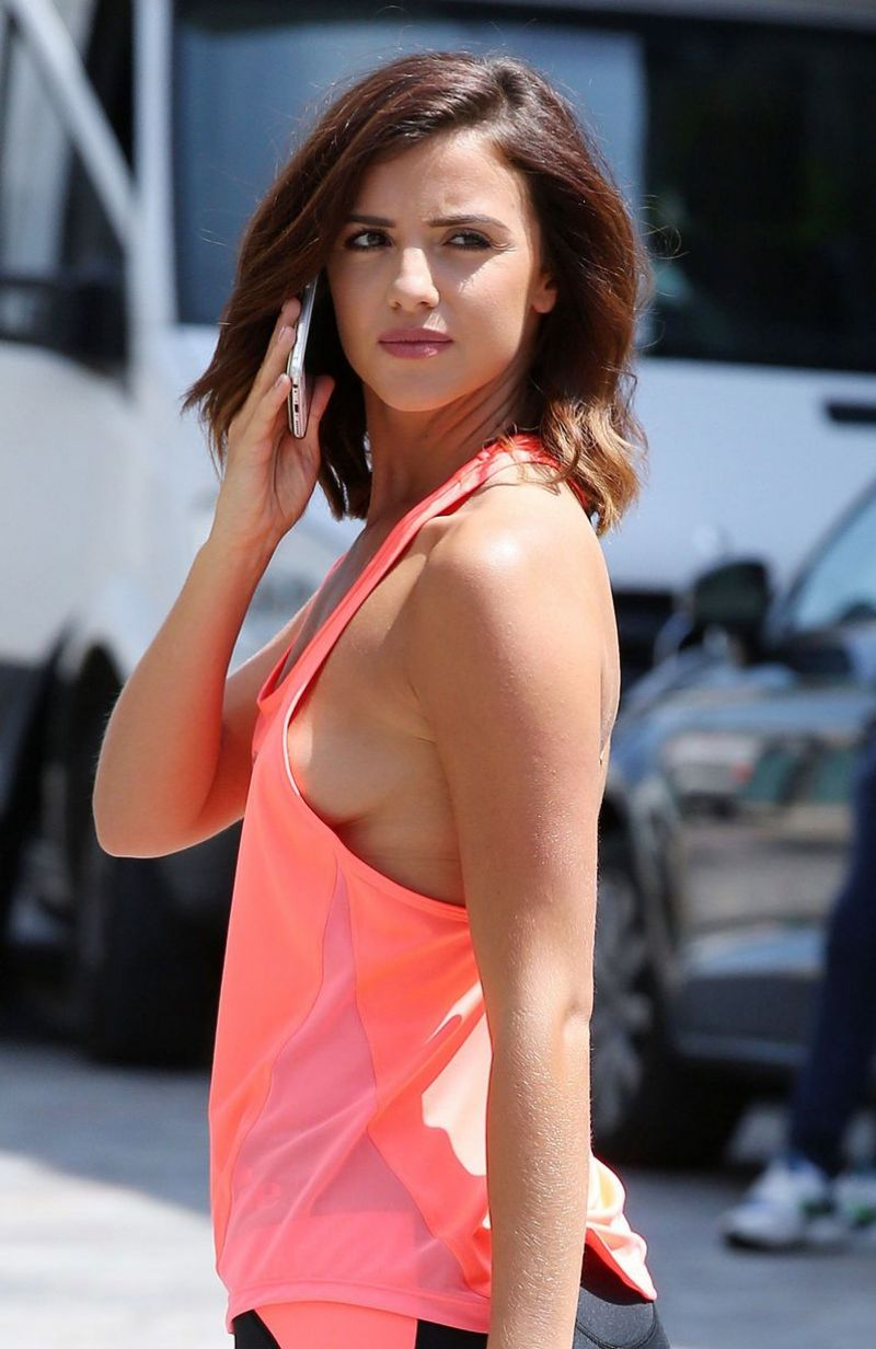 Lucy Mecklenburgh In Leggings Jd Sports Fashion Shoot