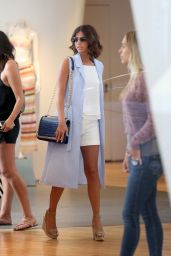 Lucy Mecklenburgh Style - Shopping at Intermix in Los Angeles, May 2015