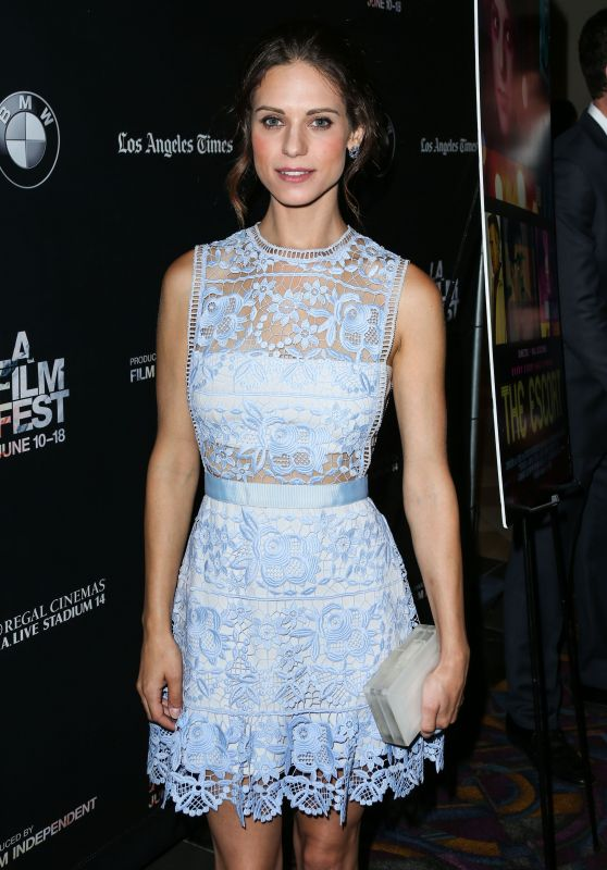 Lyndsy Fonseca - The Escort Screening at LA Film Festival