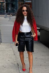 Madison Pettis - Out in NYC, June 2015