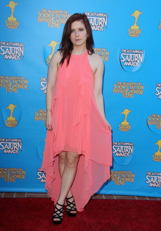 Magda Apanowicz - The 41st Annual Saturn Awards in Burbank
