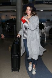 Mandy Moore at LAX Airport, June 2015