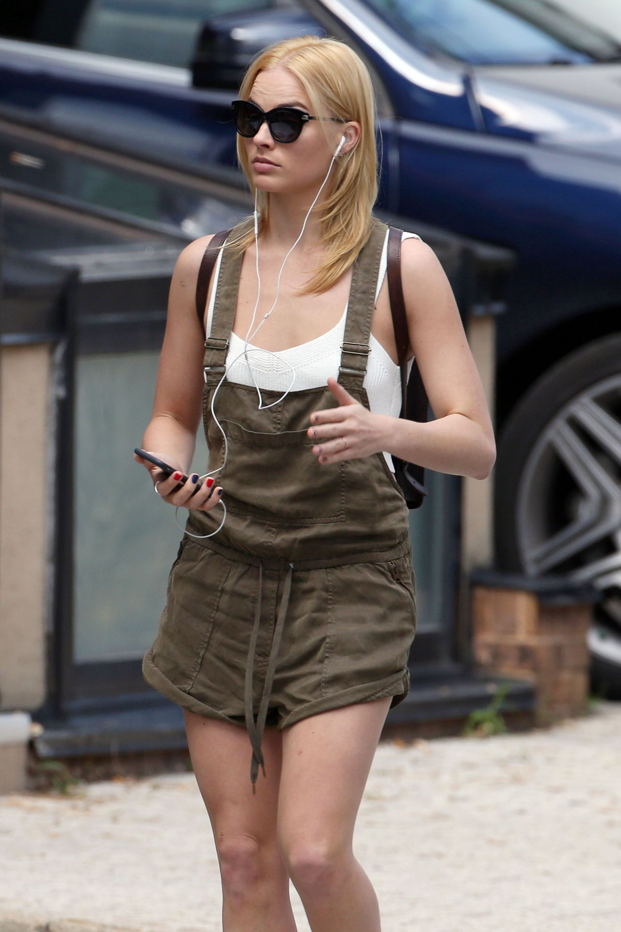 Margot Robbie Street Style Out In Toronto Canada June 2015