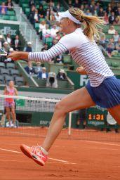 Maria Sharapova – 2015 French Tennis Open at Roland Garros in Paris – 4th Round