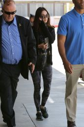 Megan Fox at LAX Airport, June 2015