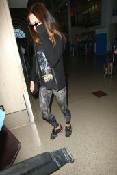Megan Fox at LAX Airport, June 2015