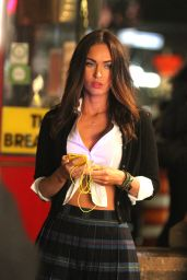 Megan Fox on the Set of