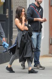 Megan Fox on the Set of