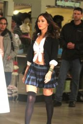Megan Fox - Teenage Mutant Ninja Turtles 2 Set Photos, New York City, June 2015