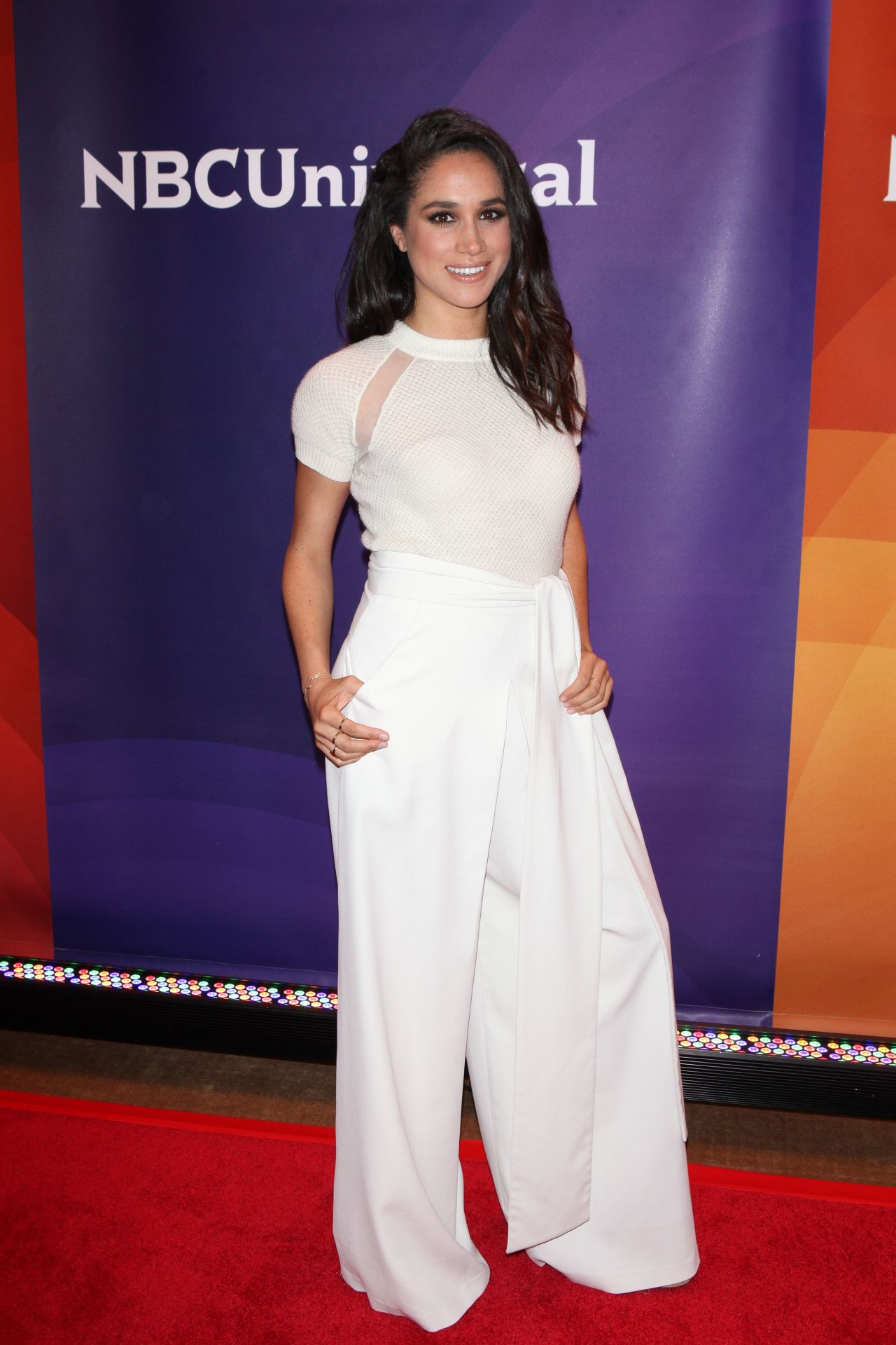 Meghan Markle 2015 Nbc New York Summer Press Day