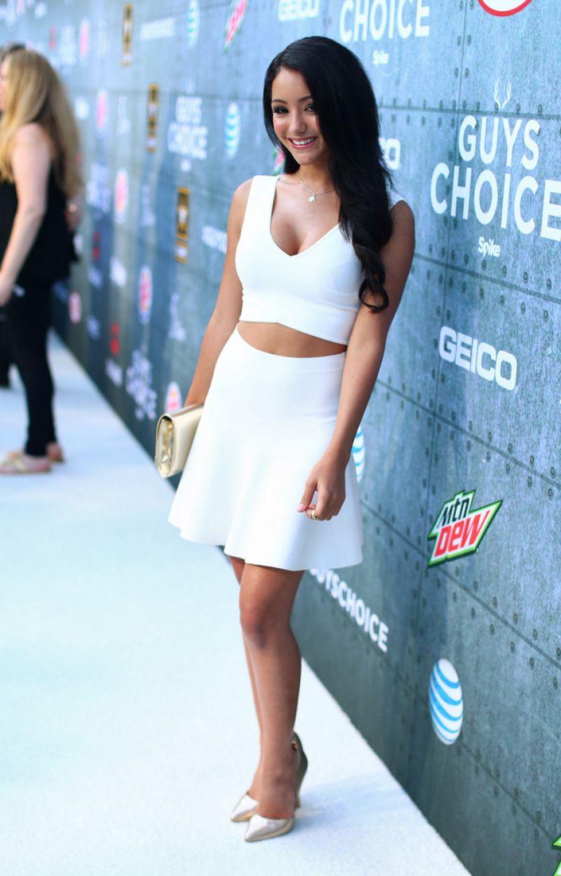 Melanie Iglesias Spike Tv S 2015 Guys Choice In Culver City
